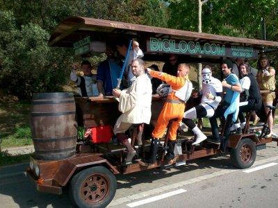 Bici Loca - Beer Bike Barcelona Bicibirra